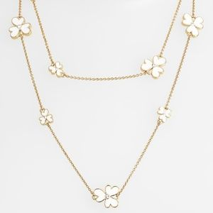 Kate Spade Pansy Blossoms Floral Neclace